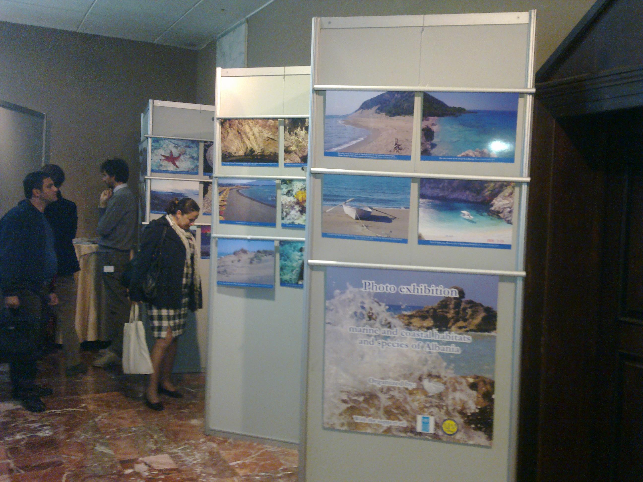 Marine photo exhibitions