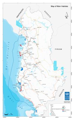 Map - habitat map
